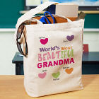 Most Beautiful Personalized Canvas Tote Bag