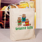 Greatest Gifts Personalized Canvas Tote Bag