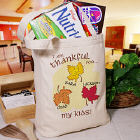Thankful for Personalized Canvas Tote Bag