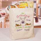 Worth 24 Carrots Personalized Canvas Tote Bag