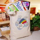 End of My Rainbow Personalized Canvas Tote Bag