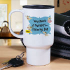 I Don't Need Therapy Personalized Dog Travel Mug T231820