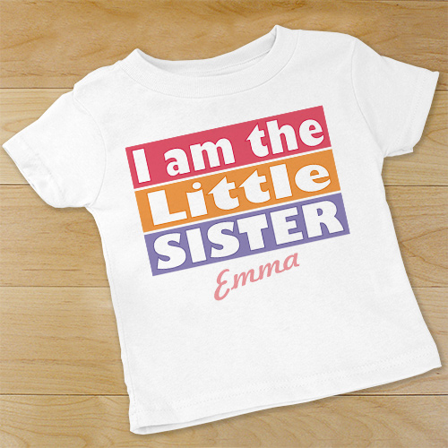 I'm The Sister Personalized Infant Creeper