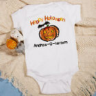 Jack-O-Lantern Infant Halloween Creeper
