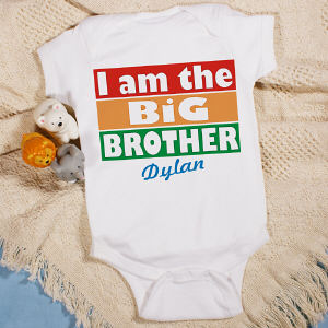 I'm the Brother Personalized Infant Creeper