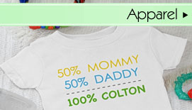 Personalized Baby Apparel