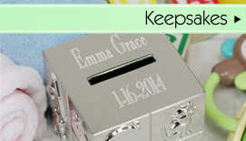Personalized Baby Keepsake Gifts