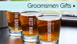 Personalized Groomsmen Gifts & Best Man Gifts