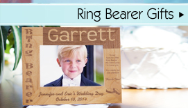 Gift Ideas for the Ring Bearer