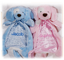 Personalized Baby Blankets & Pillows
