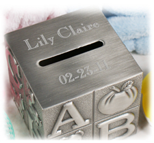 Personalized Baby Keepsakes