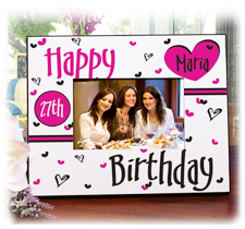 Personalized Birthday Frames & Keepsakes