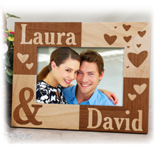 Personalized & Engraved Picture Frames