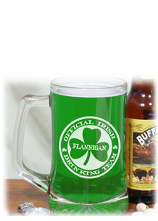 Personalized St. Patrick's Day Keepsakes & Unique Irish Collectibles