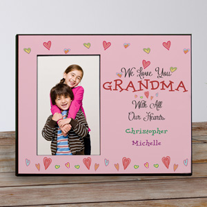 Personalized With All Our Heart Frame 4101526