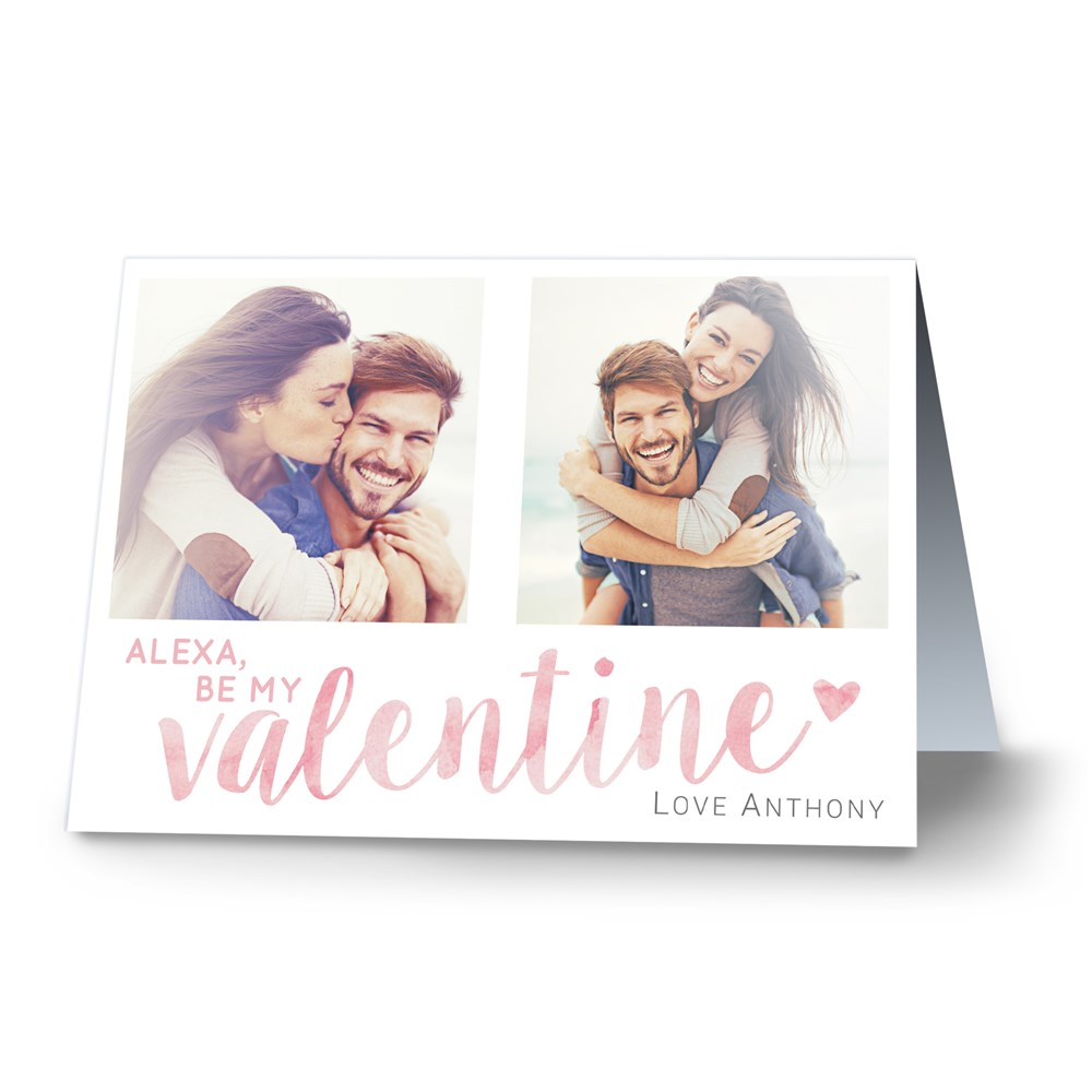 Be My Valentine Card | Personalized Valentine's Day Cards