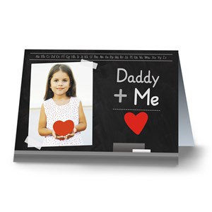 You Plus Me Card | Personalized Valentines Cards