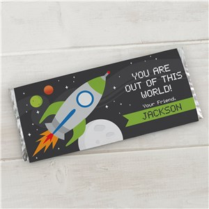 Personalized Out of this World Candy Bar Wrapper 11005615X