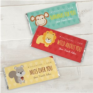 Personalized All About You Candy Wrapper | Personalized Valentine Candy Bar Wrappers