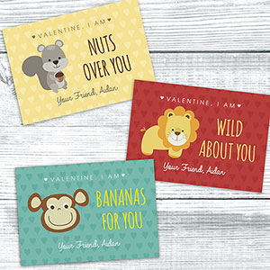 Personalized All About You Cards | Valentines Day Gifts For Kids