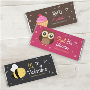 Be Mine Candy Wrapper Set | Personalized Candy Wrappers For Valentine's Day