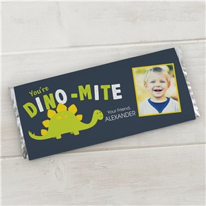Personalized Dino-Mite Candy Bar Wrapper | Personalized Candy Bar Wrappers