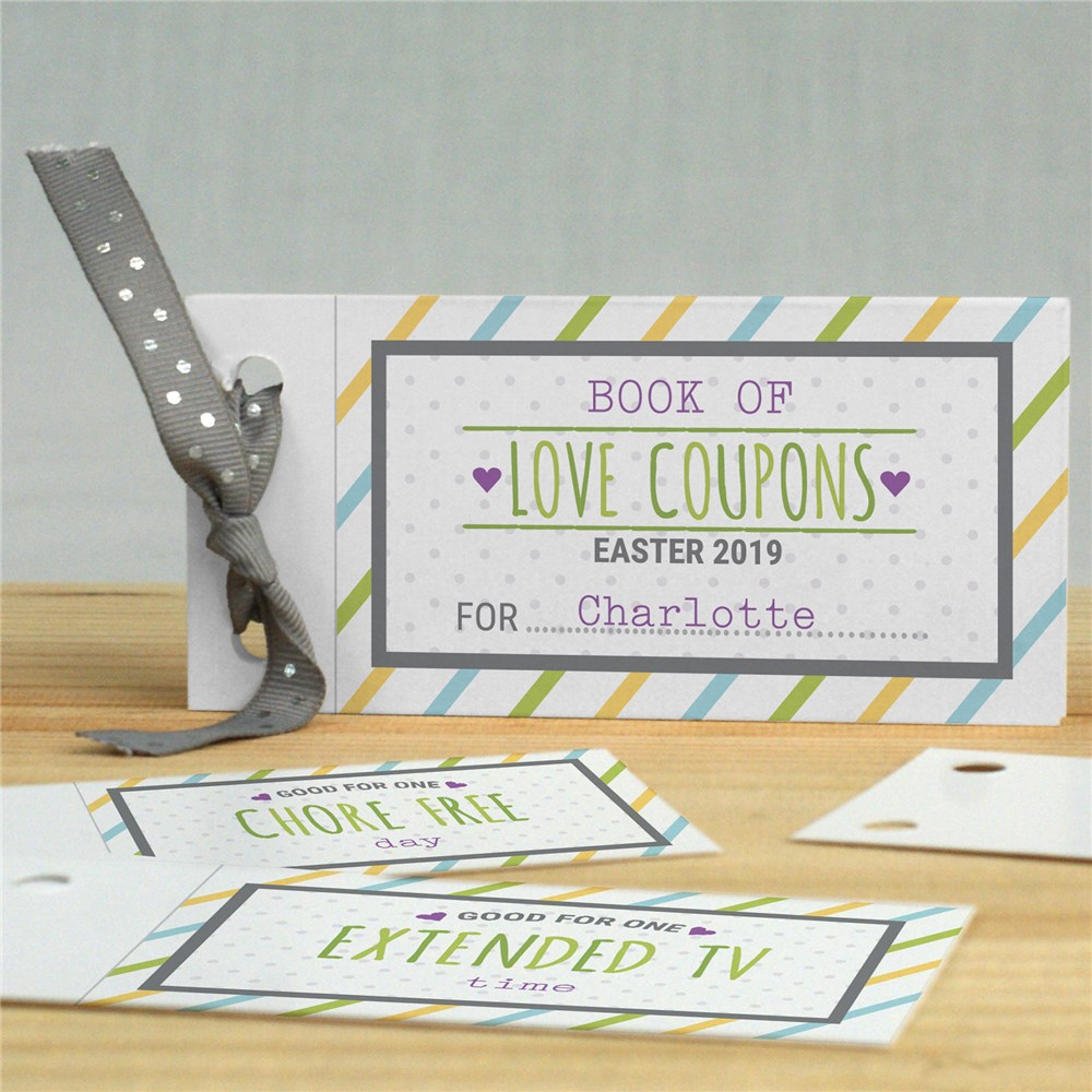 Personalized Coupon Book | Easter Coupon Book