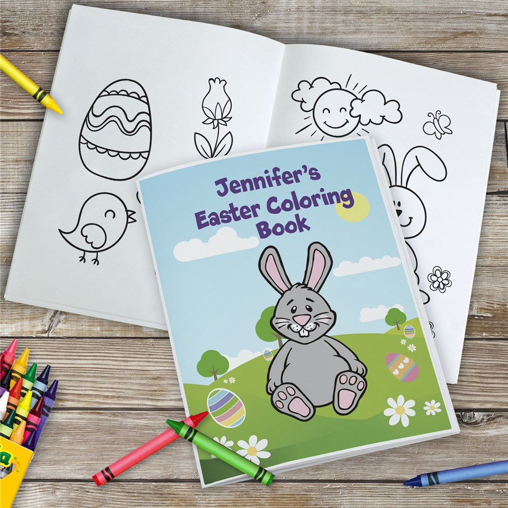 Easter Coloring Book | Personalized Easter Coloring Book