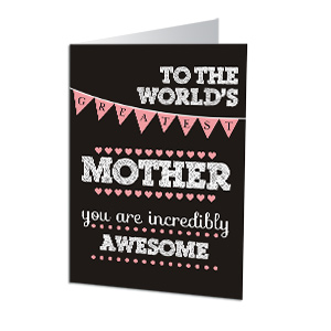 Personalized Mother's Day Greeting Card | Personalized Cards