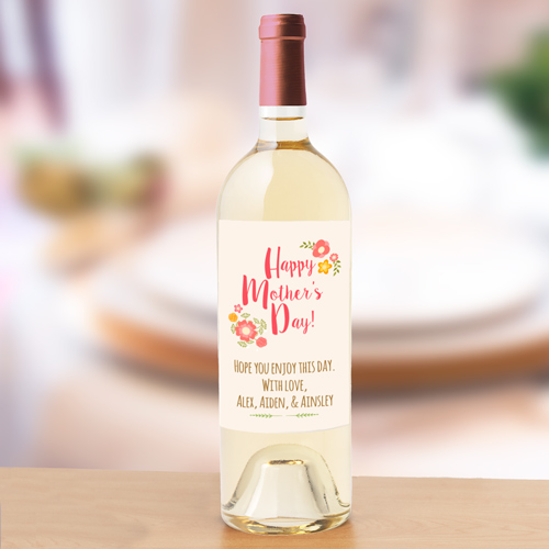 Personalized Mother's Day Wine Label 11031911X