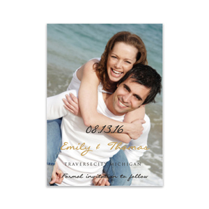 Personalized Photo Save the Date Cards 11045710X