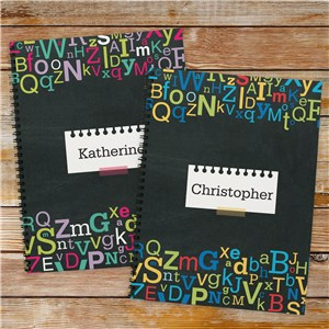 Personalized Letters Notebook Set 11047921