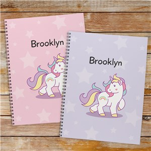 Personalized Unicorn Notebok - Set of 2 11049521