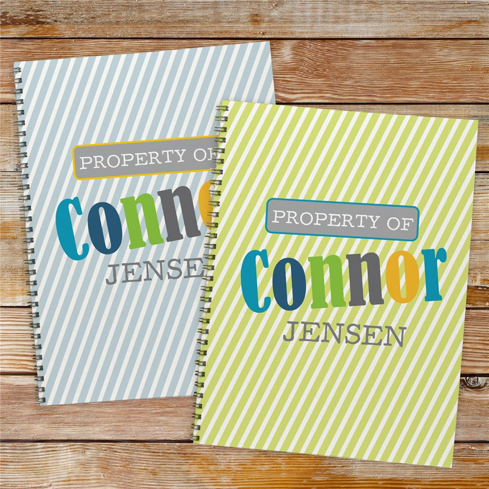 Back to School Notebooks for Kids | Notebooks With Names For School