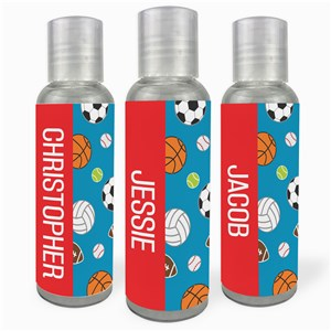 Personalized Sports Hand Sanitizer