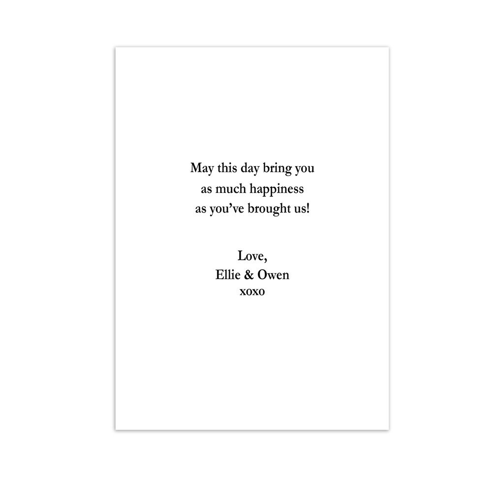 Personalized Best Mom Ever Greeting Card | Personalized Cards
