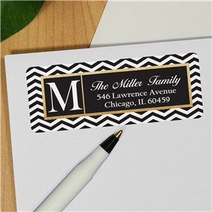 Chevron Address Labels | Personalized Address Labels