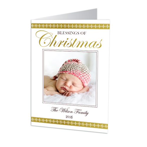 Blessings of Christmas Photo Holiday Cards 1972110
