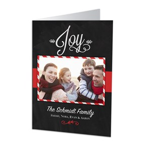 Christmas Joy Photo Holiday Cards | Personalized Holiday Cards