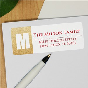 Personalized Address Labels | Glitter Address Labels
