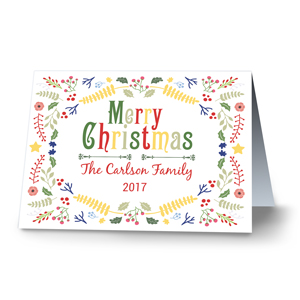 Festive Cheer Personalized Christmas Cards | Personalized Holiday Cards