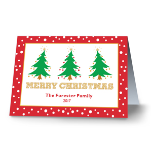 Oh Christmas Tree Personalized Holiday Cards | Personalized Christmas Cards