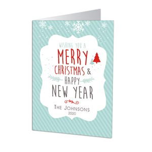 Personalized Merry Christmas Cards | Personalized Holiday Cards