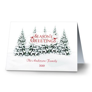Winter Wonderland Personalized Holiday Cards | Personalized Holiday Cards