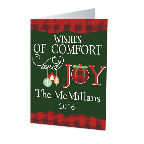 Holiday Wishes Personalized Christmas Cards 1975110