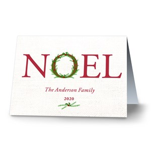 Noel Personalized Christmas Cards | Personalized Christmas Cards