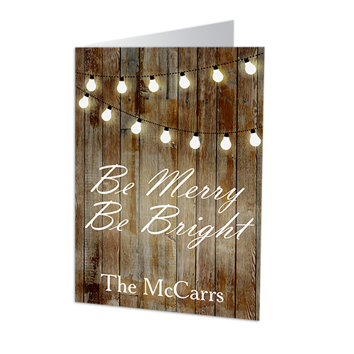 Merry and Bright Personalized Holiday Cards | Personalized Holiday Cards