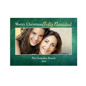 Feliz Navidad Photo Christmas Cards | Personalized Holiday Cards