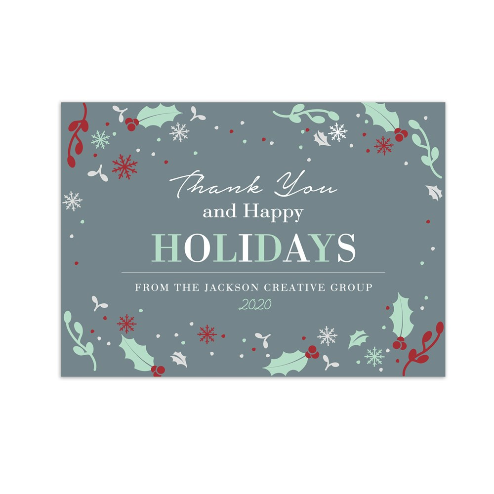 Peace, Love, Joy Photo Holiday Cards | Personalized Holiday Cards