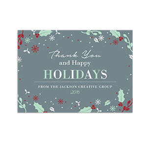 Personalized Corporate Holiday Cards